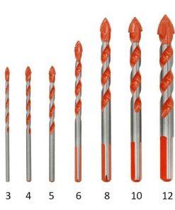 Triangular 7pcs/set Multifunctional High Quality Drill Bits