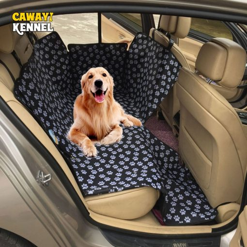 Mat Back Waterproof Car Rear Seat Cover for Pets