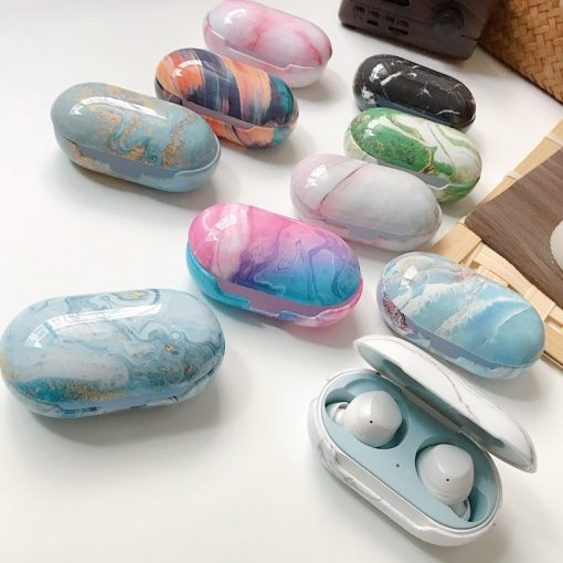 Samsung Galaxy Buds Marble Protective Case