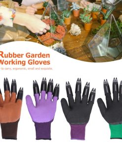 Multipurpose Garden Gloves with Claws