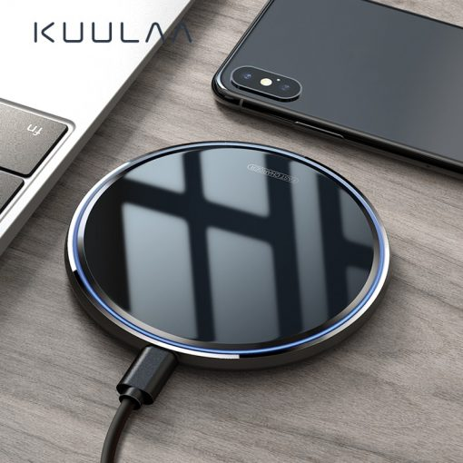10W Qi Wireless Charging pad For iPhone Samsung