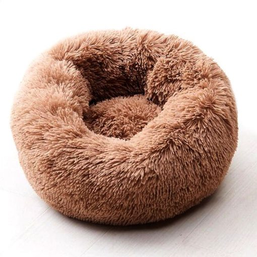 Long Plush Winter Warm Pet Bed Cushion for Dogs Cats