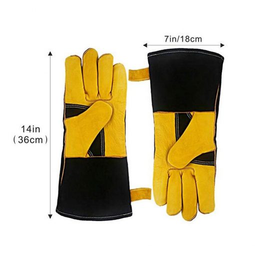 14inch/16inch Heat Resistant Work Welding Gloves