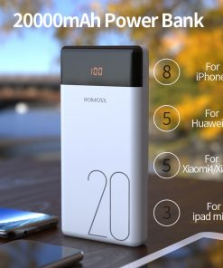 20000mAh Dual USB Power Bank with LED display