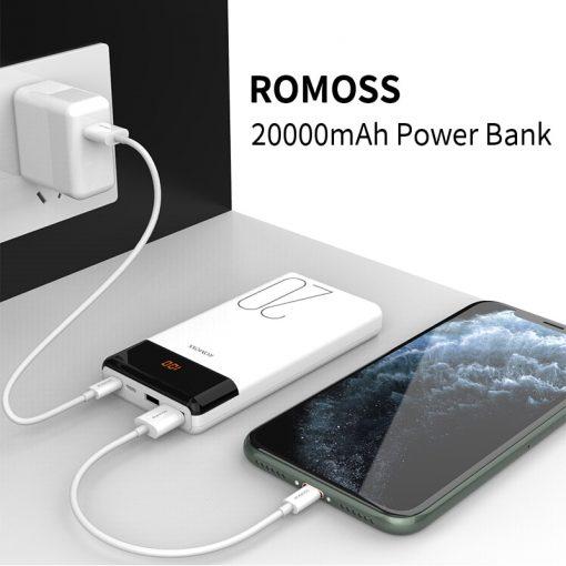 20000mAh Dual USB Power Bank with LED display