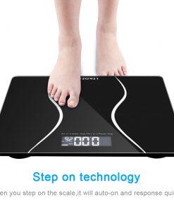 180KG Electronic LCD Digital Bathroom Body Weight Scale