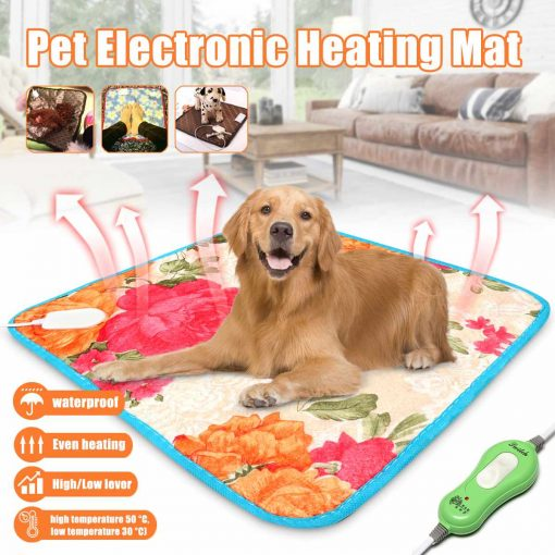 Temperature Adjustable Pet Electric Heating Pad/Bed/Blanket