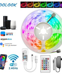WiFi Smart LED Strip Light Waterproof RGB 5050