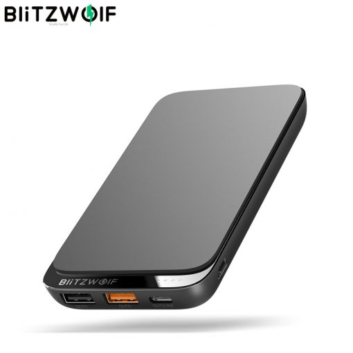 Wireless PD18W 10000mAh QC3.0 Power Bank with 4 Outputs