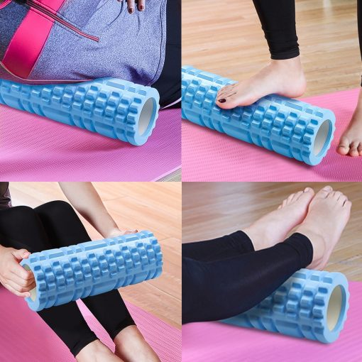 best foam roller for back pain and fitness exercise, stretching indoor exercise,