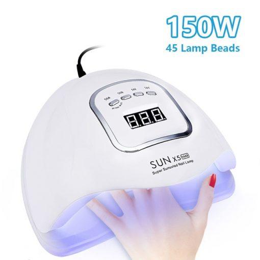 UV LED Gel Nail Dryer Lamp Curing Manicure Pedicure Machine