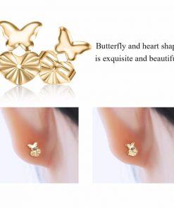 Butterfly EasyBacks- Earring Backs or Earring Lifts to Support Earrings (2pair/4pcs)