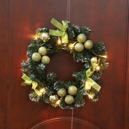 LED Christmas Wreath Home Decoration