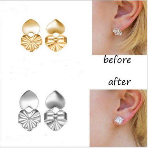 EasyBacks- Earring Backs or Earring Lifts to Support Earrings {2Pair/4pcs}