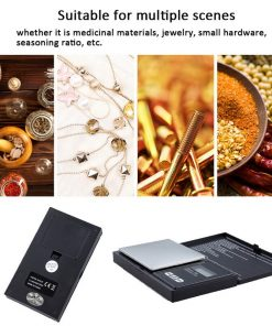 High Precision 0.1g/0.01g Digital Electronic Pocket Jewelry Gram Scale