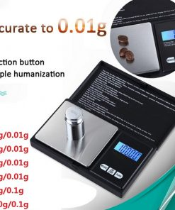 High Precision 0.1g/0.01g Digital Electronic Pocket Jewelry Gram Scale