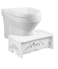 7 inch Squatting Toilet Stool Non-Slip