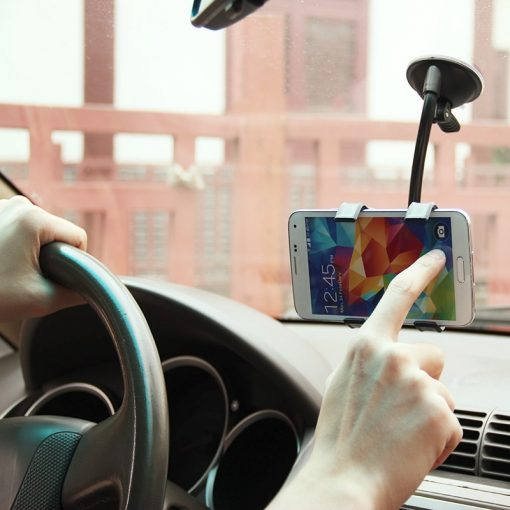 360° Rotatable Car Phone Holder Flexi Phone Mount
