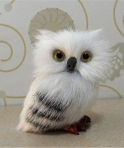 Cute Snowy Owl For Potters (7cm )