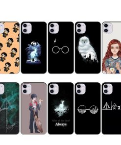 HP Fans Custom Case for IPhone 11 Pro Max SE 2020 XR X XS XR 7 8 6s Plus Cover Accessories