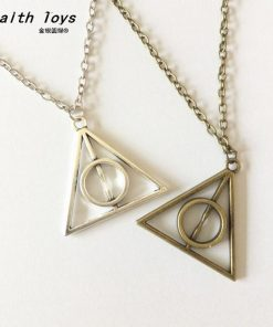 2020 Luna Deathly Hallows Vintage Long Necklaces