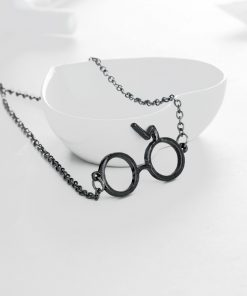 Harry Glasses Necklace & Pendant