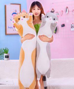 Long Cat Pillow Plush Toys