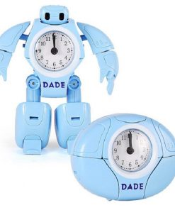 Transforming Robot Alarm Clock