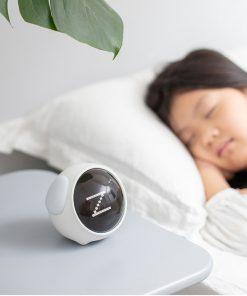Voice Control Pixel Expressive Alarm Clock for Kids
