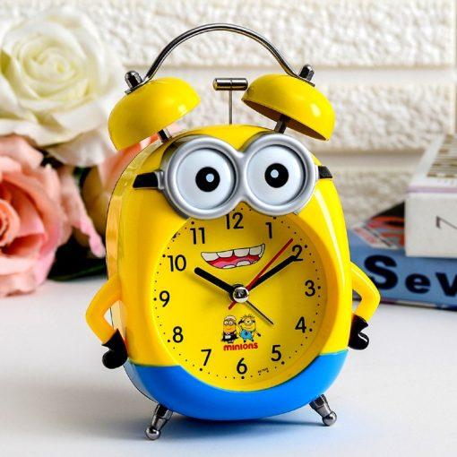 Analog Bell Cartoon Alarm Clock or Kids Bedroom