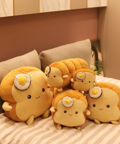 Poached egg Bread Pillow