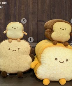 Emotion Sliced Bread Pillow