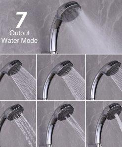AquaJet Multifunction Adjustable High Pressure Shower Head
