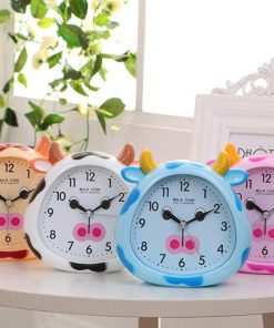 Cowy Alarm Clock Night Light for kids