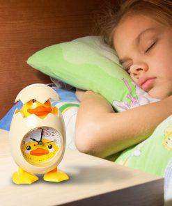 Cute Eggshell Chick Alarm Clock For Kids
