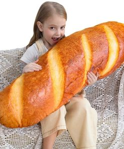 Long Bread Baguette Pillow