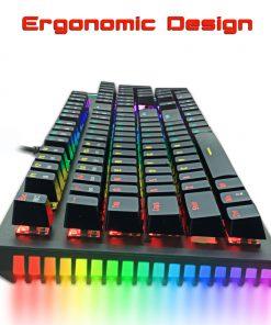 ergonomic designed mac mechanical keyboard for macbooks