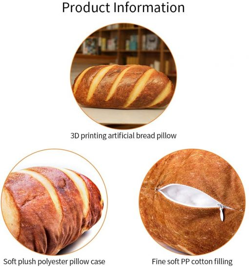 bread pillow information