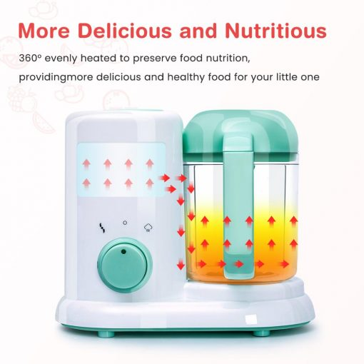 baby food steamer and maker