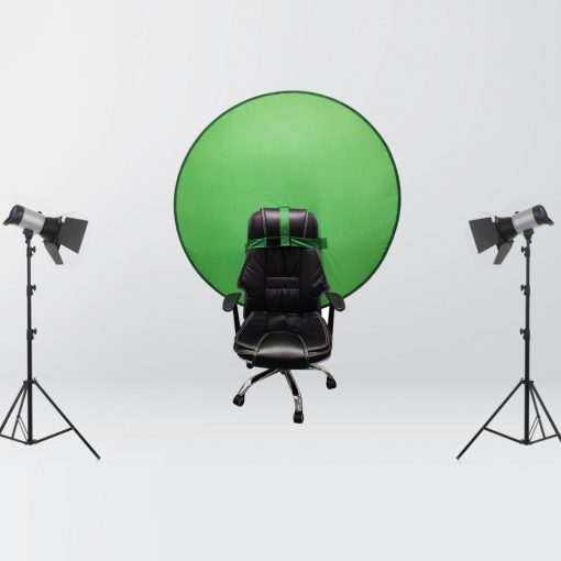 56inch Portable Collapsible Office Green Screen Background for Chair