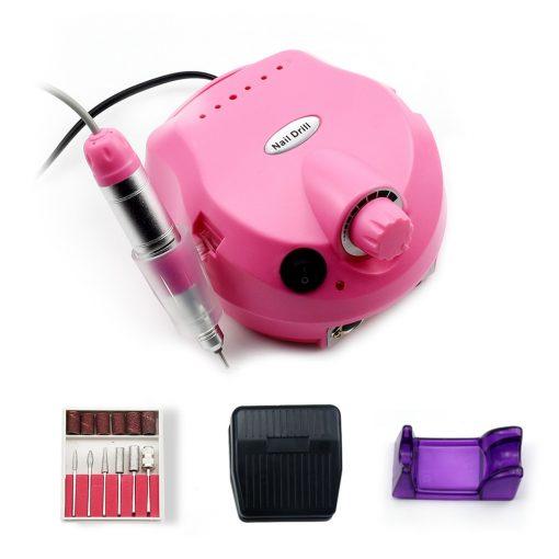 35000/20000 RPM Electric Nail Drill Machine Mill Cutter Electric Nail Manicure Pedicure File