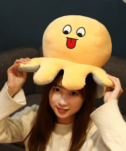 Big giant reversible octopus plush