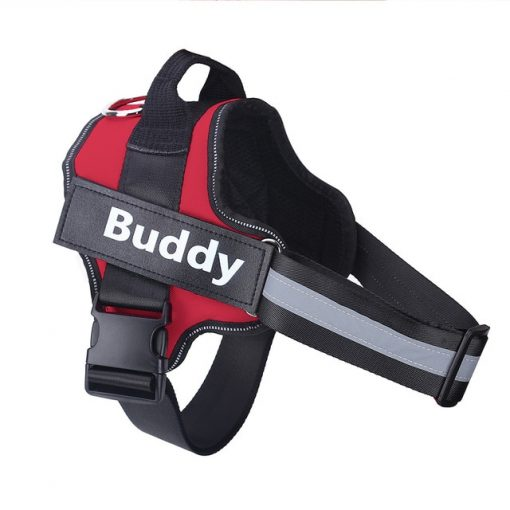 Personalized Dog Harness for NO PULL Reflective Breathable Vest With Custom Name Patch