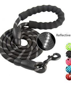 Reflective Durable Nylon  Dog Leash  For Running Walk Training